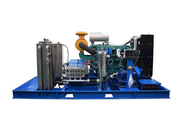 1400公斤85升柴油高压清洗机